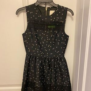 Fit and flare Polka dot dress